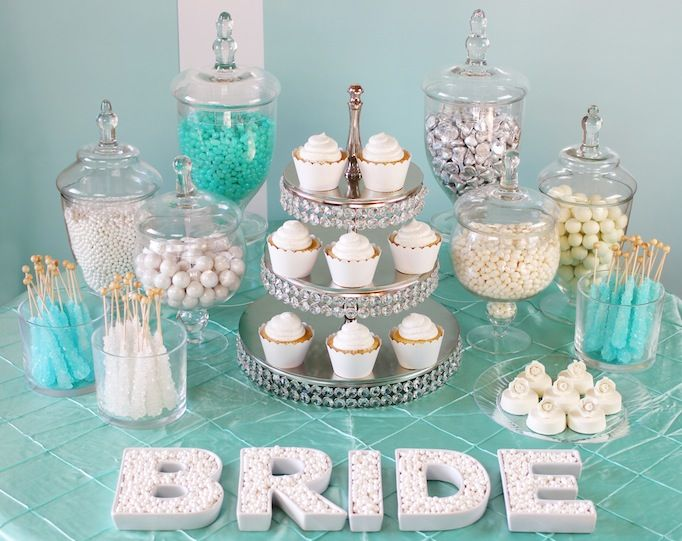25 best ideas about wedding candy bars on pinterest for Winter bachelorette party ideas
