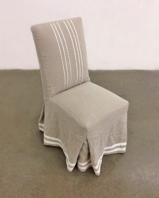 Parsons Dining Chair With Beautiful Ribbon Details On