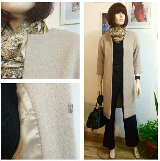 Купить Пальто демисезонное - пальто демисезонное, пальто женское, пальто из шерсти, пальто ворсистое