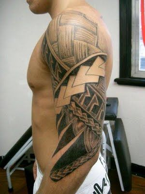 Half Sleeve Tribal Tattoo Design   Tribal Sleeves Tattoos for Men 2013   Profile  Bio  Pictures  News