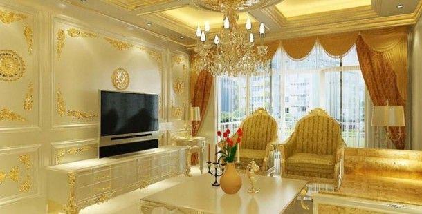 Şahane Sarı Ev Dekorasyon Örnekleri 2016