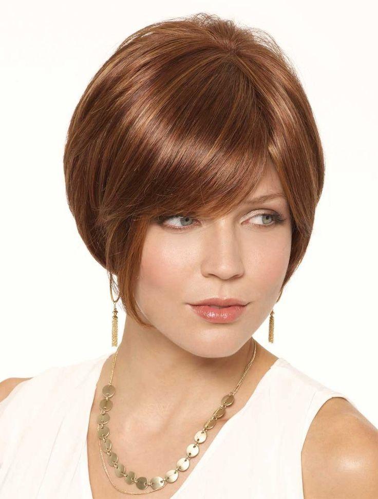 Sassy Auburn Bobs Lace Front Short Wigs CSAD00149 - I like the hair color (TC)