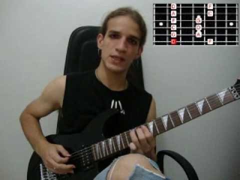 Video aula de guitarra do canal Chucrutzzz com dicas para aumentar a velocidade de digitação – parte 1.