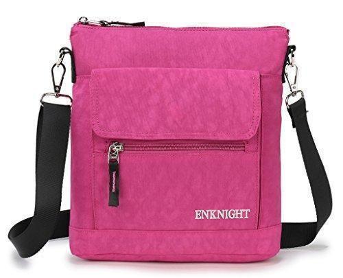 Oferta: 46.29€ Dto: -57%. Comprar Ofertas de ENKNIGHT nylon del bolso del monedero de hombro bolsos de viaje para las mujeres rosa barato. ¡Mira las ofertas!