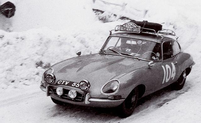 E-Type at the Rally Monte-Carlo