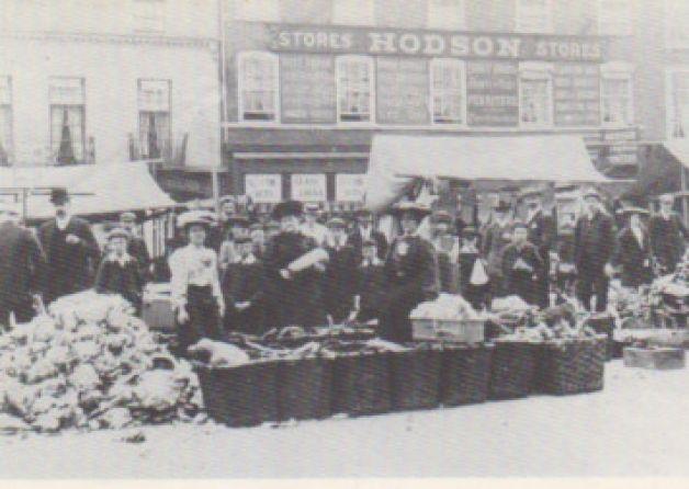 market day in Retford