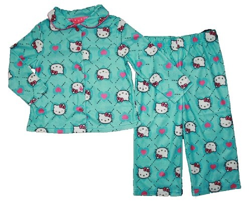Hello Kitty Toddler Girls Coat Pajama Set