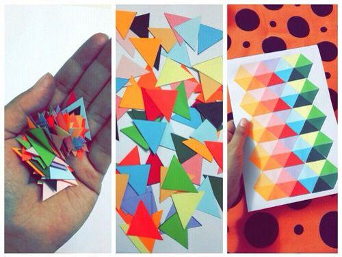 Colourful triangles