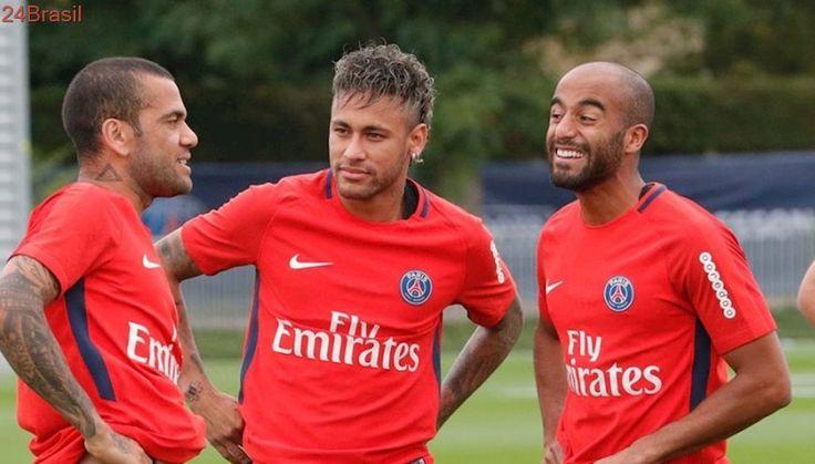 Convenceu o amigo : Neymar faz Lucas Moura mudar planos e se negar a sair do PSG