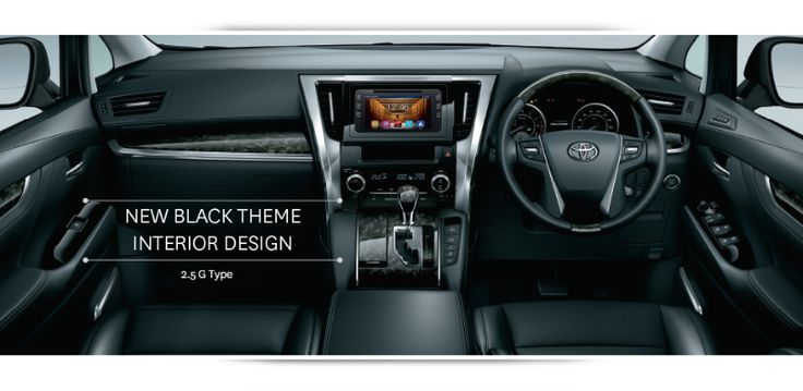 New Toyota VellFire 2.5G Interior 7