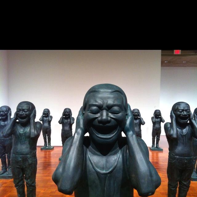 Ai Wei Wei at the  Milwaukee Art Museum. #GISSLER #interiordesign
