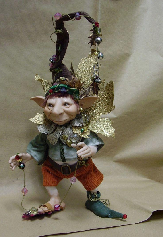 Folletti: Fantasy, Dolls Fairies Pixie, Faeries, Elves Fairies, Unknown Artists, Artdolls, Dolls Strange, Art Dolls, Fairies Tales