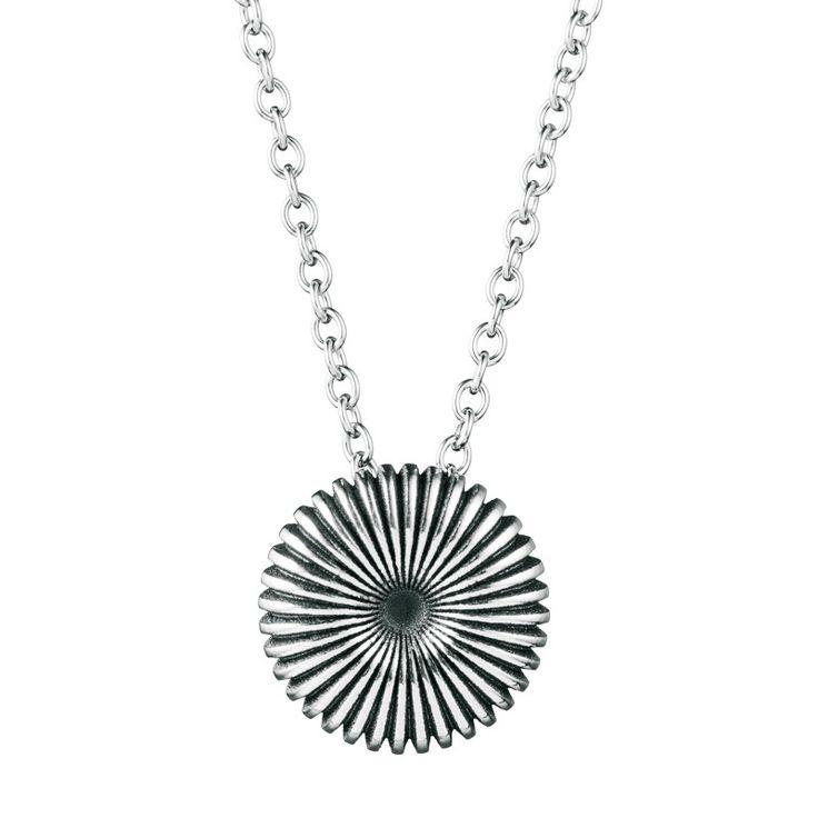 Kalevala Koru / Kalevala Jewelry / Pyörre-riipus / Swirl Pendant / Design Vesa Nilsson / Silver & bronze