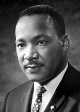 "Martin Luther King, Junior - Like all of us, not an un-flawed human being...but a great example of visionary and practical implementation needing to progress in parallel. Here is a quote I love: """"I have decided to stick to love...Hate is too great a burden to bear."""