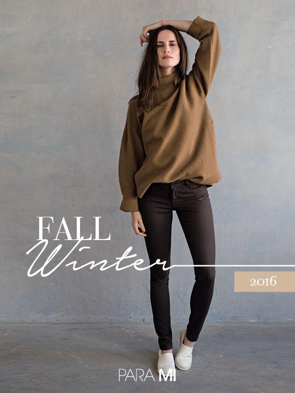 Para Mi Fall/ Winter 2016 collection