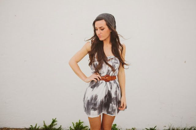 Sincerely, Kinsey: Dress Makeover DIY try with a white singlet?? or one of my plain dresses?