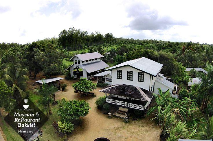 #Tropical Restaurant & #Museum @ Bakkie District Commewijne