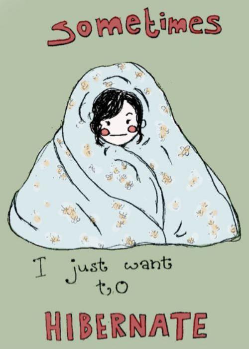 my attitude as we approach the winter season. :(