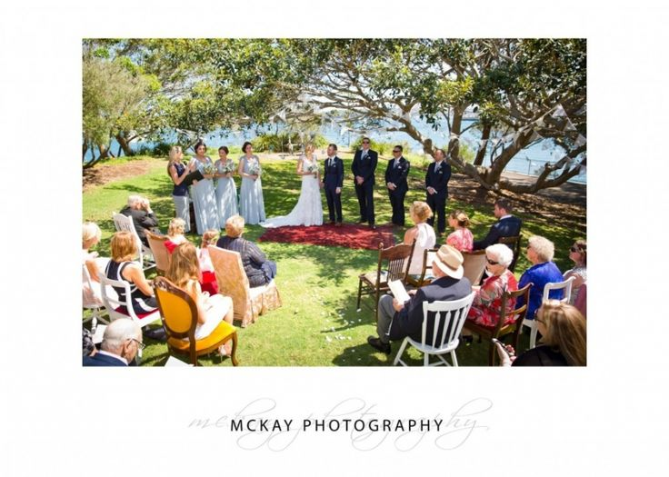 Krystle & Adam - wedding ceremony at Little Manly Point  #mckayphotography #littlemanlypoint #wedding #ceremony