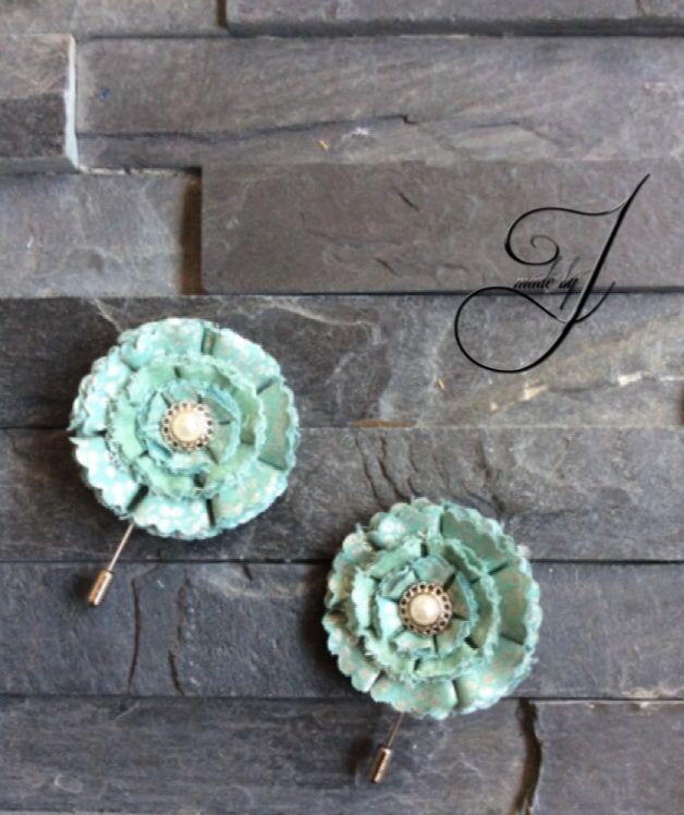 Special J lapel flower/pin