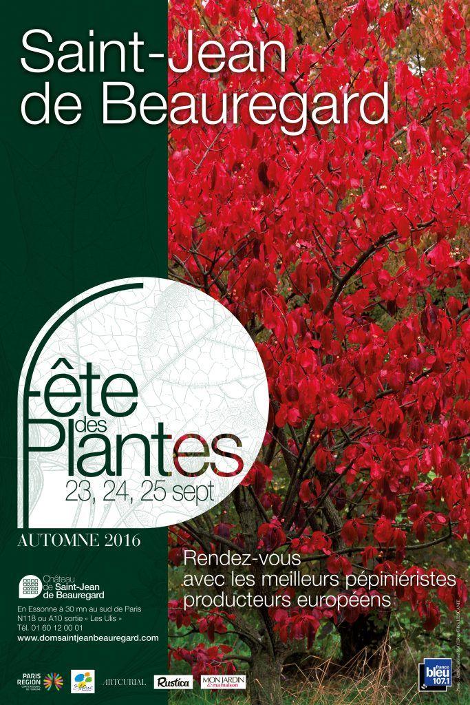 Fête des Plantes d'Automne - Château Saint-Jean de Beauregard