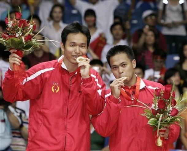 Markis Kido / Hendra Setiawan Gold Medal, Beijing Olympic 2008