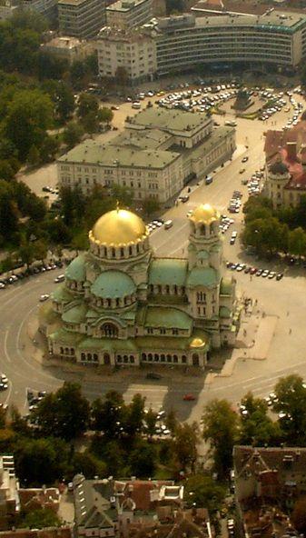 Catedral de Sofía, Bulgaria.