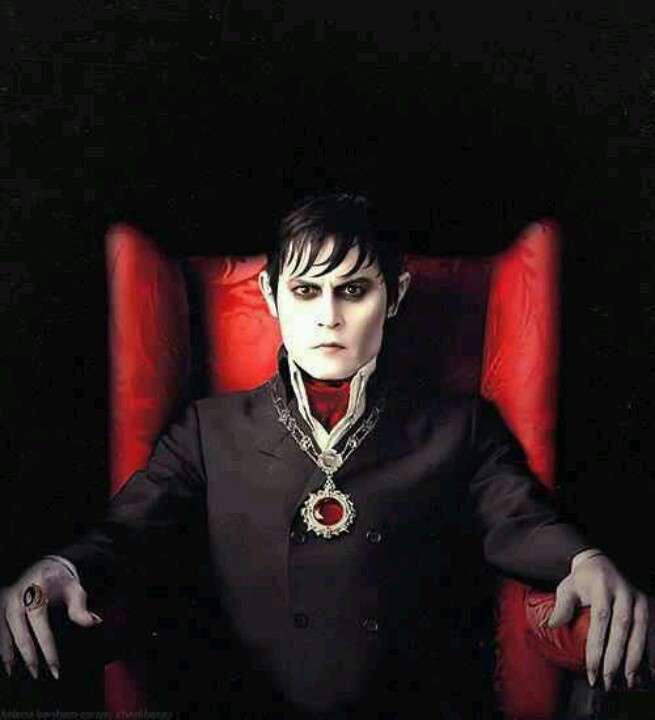 Johnny Depp. Dark Shadows. For some reason I find him extremely attractive as this character.