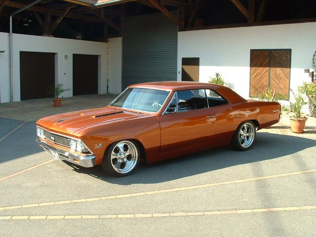 '66 Chevelle SS - I had a 66 Chevelle, but not a SS, in 1966.