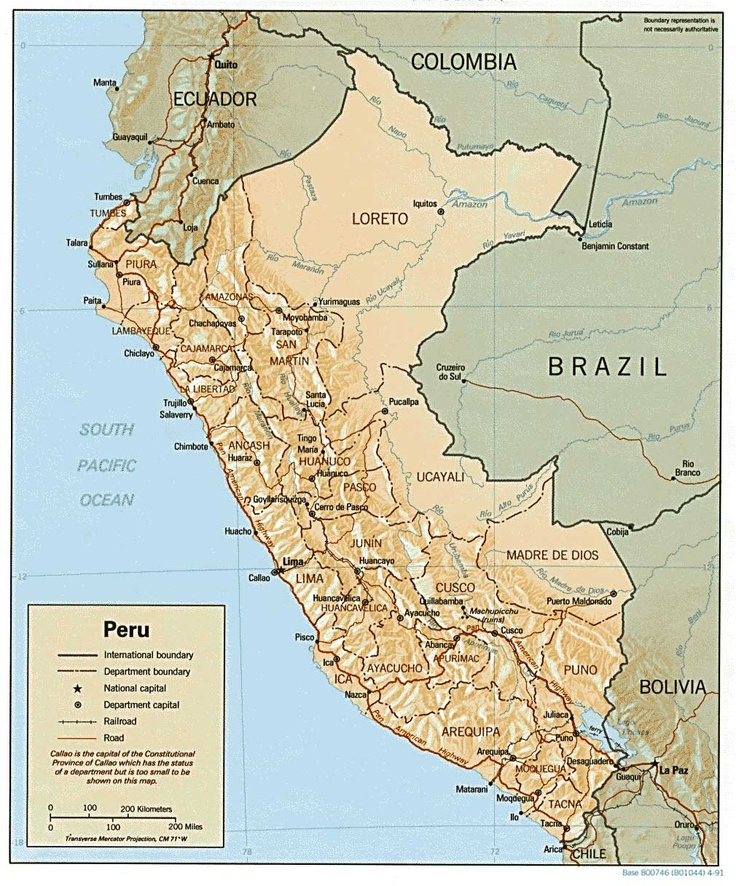 Best Peru Map Ideas On Pinterest Map Of Colombia Bolivia - South america relief map peru