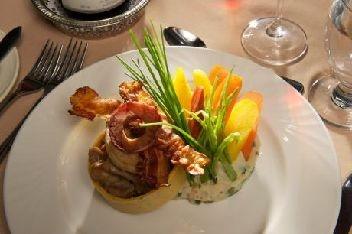 Cuisine Gourmet au Manoir du Lac William, St-Ferdinand, fier membre du Réseau Hôtellerie Champêtre