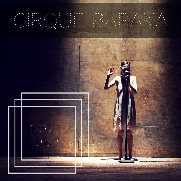 📣 Η σημερινή (13/1) και αυριανή (14/1) Παράσταση Θεάτρου-Τσίρκου #Baraka είναι sold out!  Παρακαλούμε, για να αποφύγετε την ταλαιπωρία, προμηθευτείτε άμεσα τα εισιτήριά σας για τις τελευταίες 3 παραστάσεις (19, 20 και 21 Ιανουαρίου), κάνοντας κλικ εδώ: goo.gl/BoKZ5T  Η Ελευσίνα 2021 και το Γαλλικό Ινστιτούτο Αθηνών σας ευχαριστούν πολύ για την ανταπόκρισή σας.