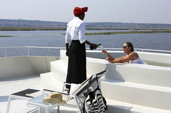 """For Stern, summing up life on the Zambezi Queen is simple, succinct and enticing; """"It is an absolutely unique experience."""" For more information, or to make a booking for the Zambezi Queen, please visit the website on www.zambeziqueen.com"""