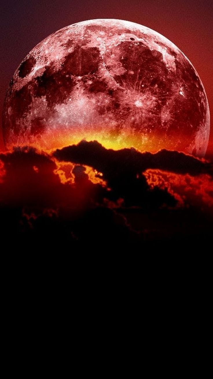 Super Blood Moon Wallpaper Android - Best Android Wallpapers