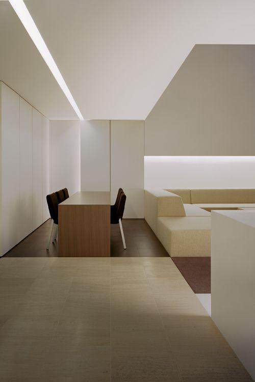 Sleek Japanese flat interior.