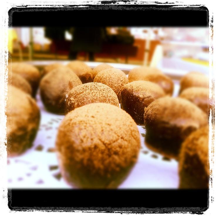 Live and Organic Wild Orange Tahini Truffles