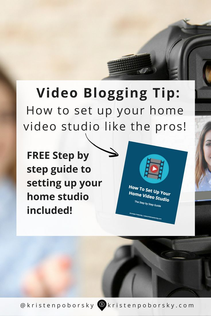 In this post I'm going to show you how easy it is to set up your home video studio like a pro!  ANNND....I've even created a step by step guide you can print out and have handy each time you set up your home video studio...