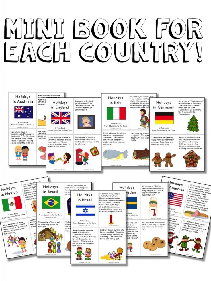 Ordinary Christmas Around The World Craft Ideas Part - 2: Christmas Around The World Activities And A FREEBIE!