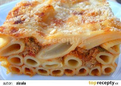 Pasticcio recept - TopRecepty.cz