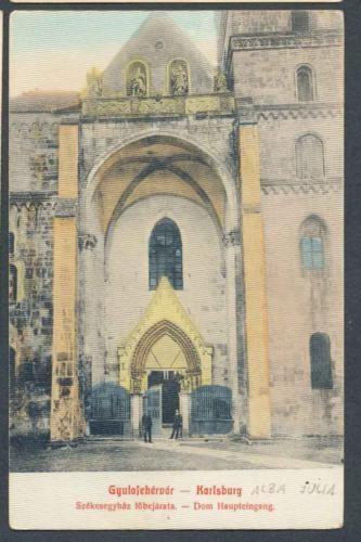 Alba Iulia - Domul Evanghelic - 1912