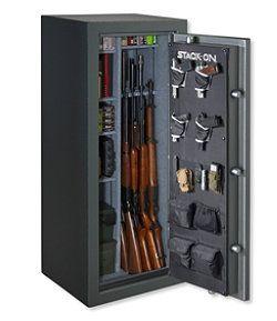 #LLBean: Stack-On Total Defense Gun Safe, 24 Gun