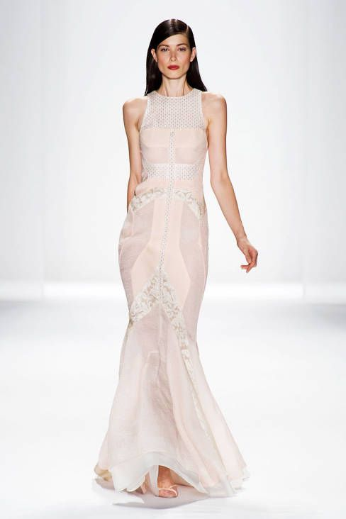 J. Mendel Spring 2014 Ready-to-Wear Runway - J. Mendel Ready-to-Wear Collection
