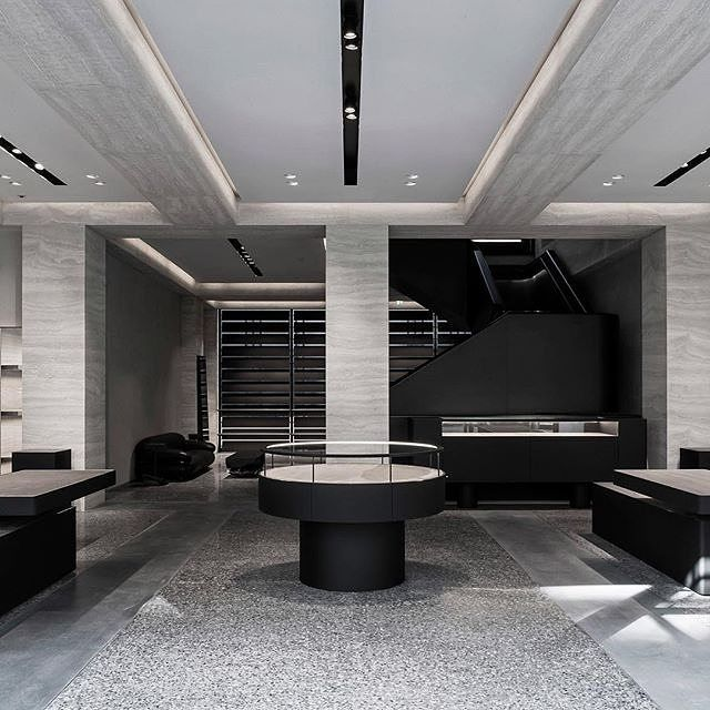 #Monochrome can bring contemporary #charm to almost any #interior! Shared via @dezeen  #design #interiordesigning #interiorstyling #furniture #interiordesignideas #roominspiration #homeinspiration  #deco #inspo #modernhomes #modernfurniture #contemporayhome #designing #interiors