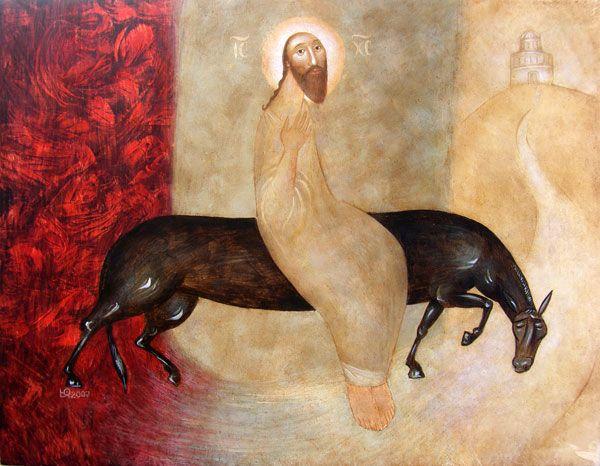 The Entry into Jerusalem (Julia Stankova)
