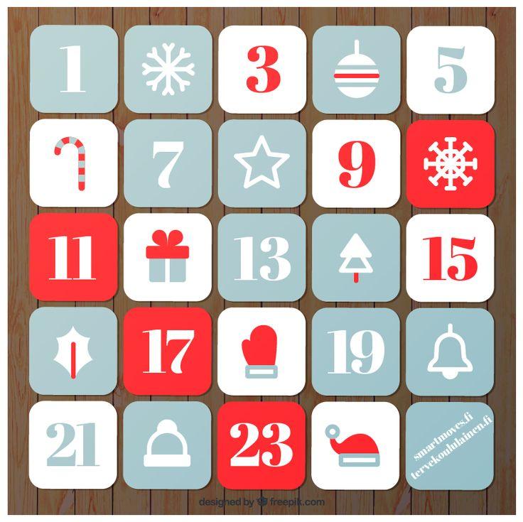 Kosketa tätä kuvaa: Joulukalenteri by Katariina