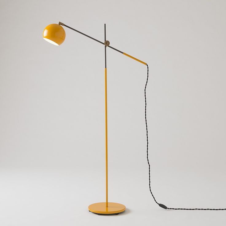 Studio Floor Lamp Industrial Yellow 44
