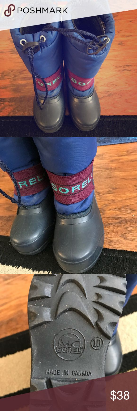 Kids SOREL boots Great boots perfect for snow barely use. Sorel Shoes Rain & Snow Boots