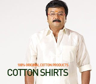 Manufacturers, Supplier of Quality Cotton Dhotis and White Shirts and Inner Wear in India - Ramraj Cotton For Business Enquiry - http://www.ramrajcotton.com  Visit Our Online Store - http://www.ramrajcotton.in