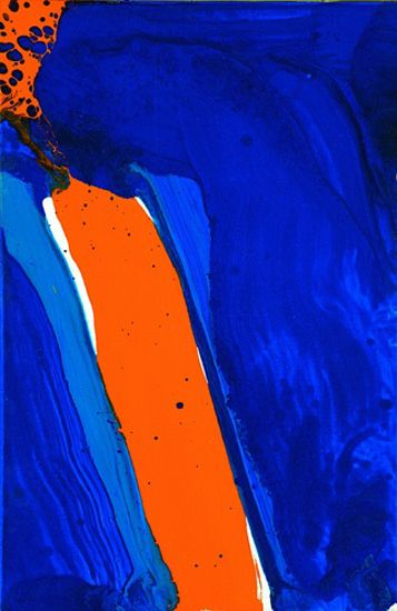 "Sam Francis, American painter. The ""Go Illini"" artwork every fan should...make!"