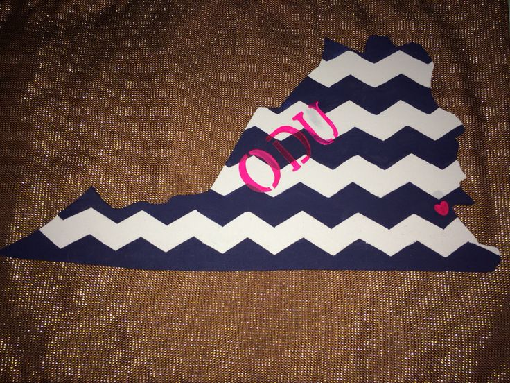 Old Dominion University DIY craft